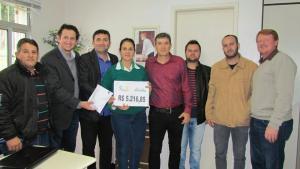 CMD de Bom Progresso faz doação superior a R$ 5.000,00 ao Hospital de Caridade