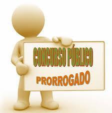 PRORROGAÇÃO CONCURSO PÚBLICO