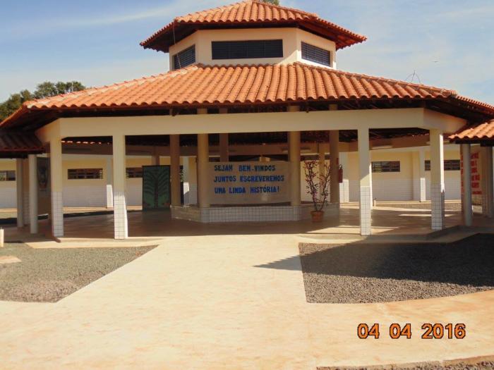Inauguração Novo Prédio da Escola M. Professor Oniro S. Bones